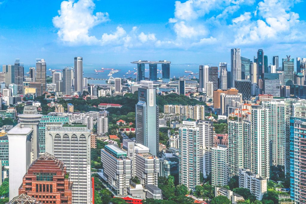 HR outsourcing in Singapore city skyline